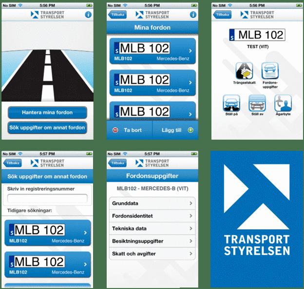 Du hittar information om alla tänkbara fordon i bilregistret