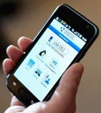 Transportstyrelsens app för mobila enheter